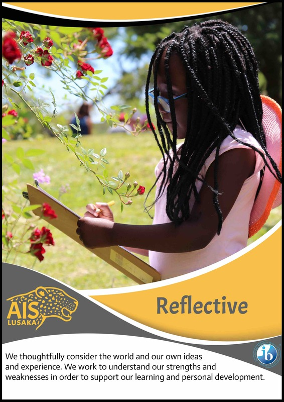 IB Learner profile Reflective American International school of Lusaka, Picture